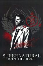 SUPERNATURAL ~ CASTIEL SPELL 24x36 TV POSTER Misha Collins Angel NEW/ROLLED!