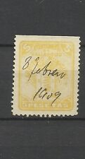 8049-SELLO FISCAL VALLADOLID ARBITRIO MUNICIPAL  1899 AYUNTAMIENTO ARBITRIOS 5 P