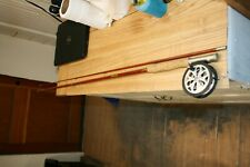 Vintage Wright & Mcgill Champion 9Ft 2 Pc Fly Rod & Pflueger Sal Trout 1554 Reel