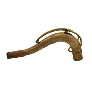 Pro Eastern Music SBA type unlacquered German copper tenor saxophone neck