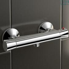Thermostatic Mixer Shower Faucet Mixing Valve Hand Spary Basin Tub Chrome Tap