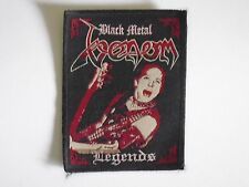 VENOM BLACK METAL LEGENDS WOVEN PATCH