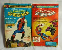 Stan Lee Presents The Amazing Spider-Man #2,3 Marvel Comic Full Color 1979