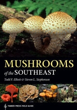 New Book  A Timber Press Large Field Guide Mushrooms and Fungi of the Southeast