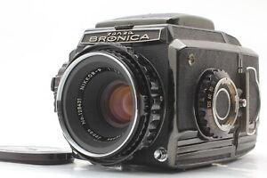 [ Near Mint ] Zenza Bronica S2 Noir Dernier Modèle Avec / Nikkor P 75mm F/2.8