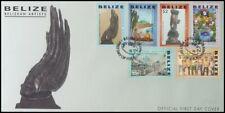 BELIZE 2007 BELIZEAN ARTISTS ILLUSTRATED FDC (ID:544/D56132)