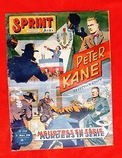 SPRINT JUNIOR n°119. Meurtres en série - récit complet 1948.Ed. Sprint, Lyon