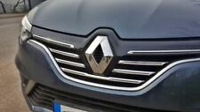 Renault Megane IV HB. 2016 Up Chrome Front Grill 5 Pieces Stainless Steel