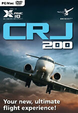 X-Plane 10 CRJ 200 Add-On Mac, PC Game NEW