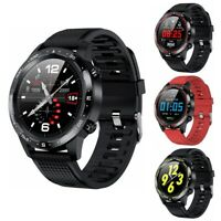 Microwear L12 Waterproof IP68 ECG Blood Pressure Heart Rate Monitor Smart Watch