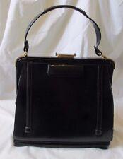 Vintage 1940's Italian Leather Expandable Handbag Bramson Rare Find