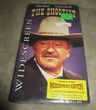 "JOHN WAYNE WESTERN ""THE SHOOTIST"" VHS MOVIE NEW FACTORY SEALED"