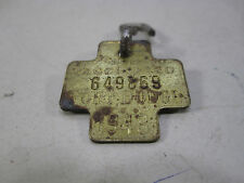 1948 Fort Dodge Dog Tag/License