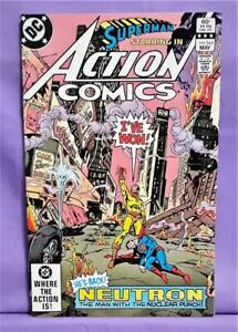 Marv Wolfman Superman ACTION COMICS #543 Curt Swan Bronze Age (DC, 1983)!