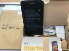 Samsung Galaxy S5 SM-G900P  Charcoal Black (Sprint) Smartphone