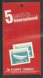 Canada Booklet BK117 Whale MNH Close