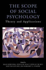 The Scope of Social Psychology: Theory and Applications (A Festschrift for Wolfg