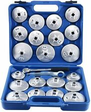 23pcs Cup Type Oil Filter Filter Wrench Garage Removal Socket Remover Tool Kit
