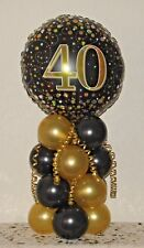 40th Table Decorations In Party Balloons For Sale