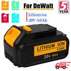 For DeWALT DCB204-2 20V MAX Lithium Ion Fuel Battery Pack 20 Volt DCB200 DCB204