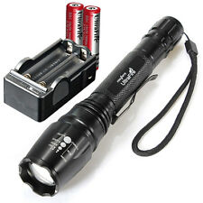 UltraFire 11000 Lumens CREE XML T6 LED Lamp Flashlight Torch + 2x18650 + Charger