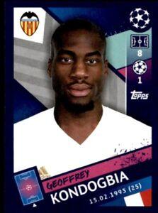 Topps Champions League 2018/19 - Geoffrey Kondogbia Valencia CF No. 73