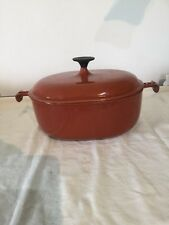 Le Creuset Enzo Mari La Mama 29 Cast Iron Oval Casserole Dish Stewpot