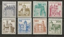 STAMP / TIMBRE ALLEMAGNE GERMANY SERIE N° 762 A 767 ** CHATEAUX