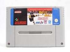 Brett Hull Hockey SNES Nintendo Cartridge Only PAL