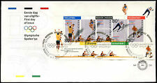 Netherlands 1992 Winter Olympic Games M/S FDC First Day Cover #C27992