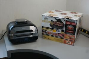 Ninja Foodi 6-in-1 Smart XL Indoor Grill Air Fryer Smart Probe FG551 (8B-P323)