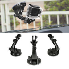 Car Window Windshield Glass Suction Cup Mount for GoPro 4 3 2 1 Action Camera US
