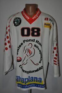 Swiss Pond Ice Hockey #08 Championship Silvaplana Jersey HR1