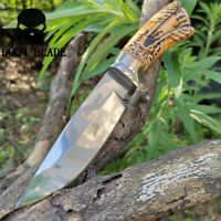 Fixed Blade Knife 5CrMoV Blade POM Handle Camping Mountaineering Hunting Knives