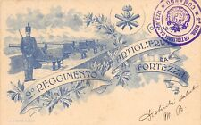 1945) 2 REGGIMENTO ARTIGLIERIA DA FORTEZZA. VIAGGIATA.