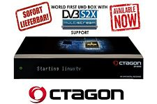 OCTAGON SF4008 4K UHD 2160p Linux E2 Receiver mit 2x Sat Tuner inkl 1 TB HDD