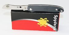 Spyderco Roadie Double Dent Non Locking Pocket Knife Gray FRN Handle C189PGY