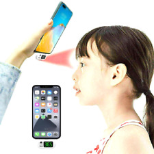 TERMOMETRO SMARTPHONE IPHONE AD INFRAROSSI MISURA TEMPERATURA FEBBRE DIGITALE
