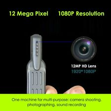 HD Pocket Pen Camera Hidden Spy Mini Portable Body Video Recorder DVR With Mic