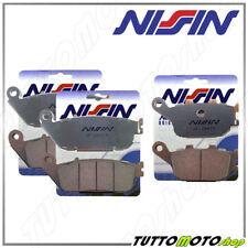 Pastiglie freno Ant Post NISSIN Sinterizzate Kawasaki Z750 Z 750 ABS 2007-2012