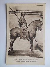 """CPA """"Musée de Saint Germain en Laye - Cavalier romain bronze de Frémiet"""""""