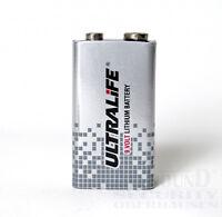 Ultralife 9V Lithium Block Batterie 10 Jahre Batterie für Rauchmelder etc. 6LR61