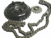 FOR ROYAL ENFIELD 5 Speed Chain Sprocket Kit 18 teeth