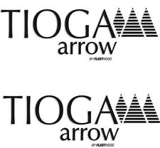 """ Tioga Arrow by Fleetwood""  RV Decals (Set of 2) - OEM New Oracle *"