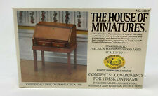 The House Of Miniatures Dollhouse Chippendale Desk On Frame  #40067