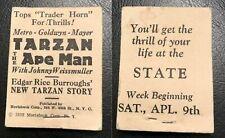 1932 TARZAN THE APE MAN Flip Book Moviebook Johnny Weissmuller RARE Antique