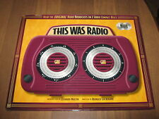 This Was Radio (2000, CD / Hardcover)