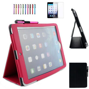 """For iPad 6th 5th Generation 9.7"""" 2018/2017 Air 1 Leather Case Smart Cover"""