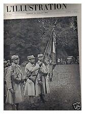 L'ILLUSTRATION 3777 24/7/1915 HT Général De Langle de Cary MASSEVAUX ALPINI
