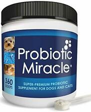 NUSENTIA Probiotic Miracle Dog Probiotics for Dogs (Up to 360 Servings)